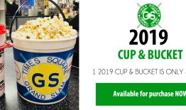 Popcorn Bucket and Movie Cup