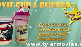 Popcorn Bucket and Movie Cup