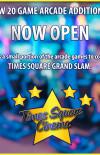 Arcade Now Open
