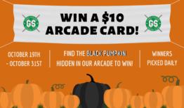 Win a $10 Arcade Card