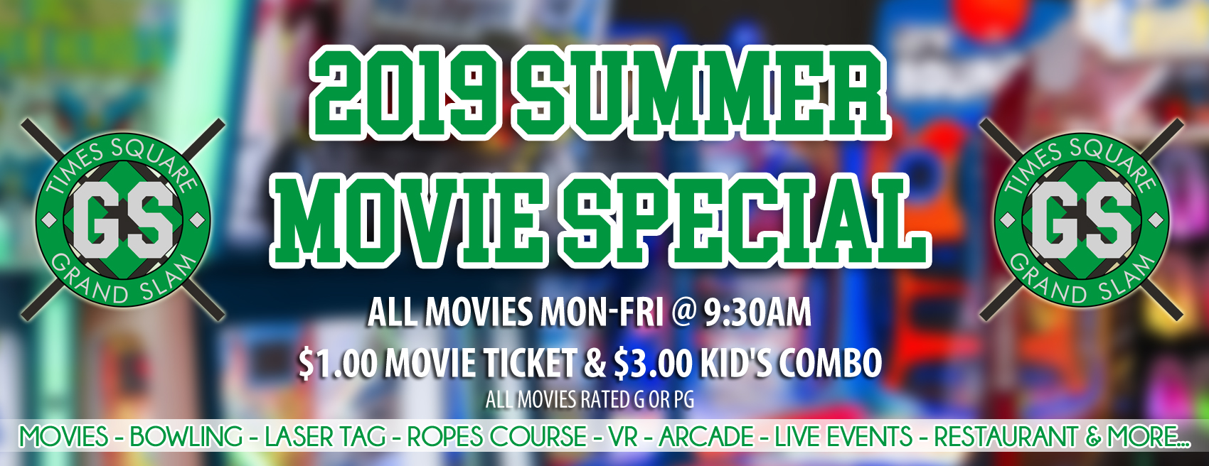 Summer Movie Special « Times Square Grand Slam